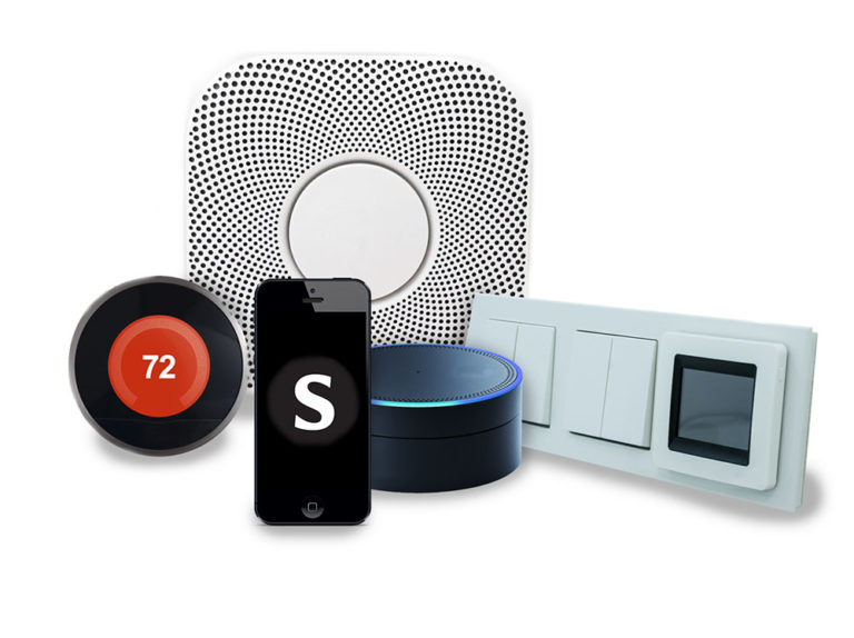 Smart Home Apartments, Properties with Alexa, Google Home, Bluetooth