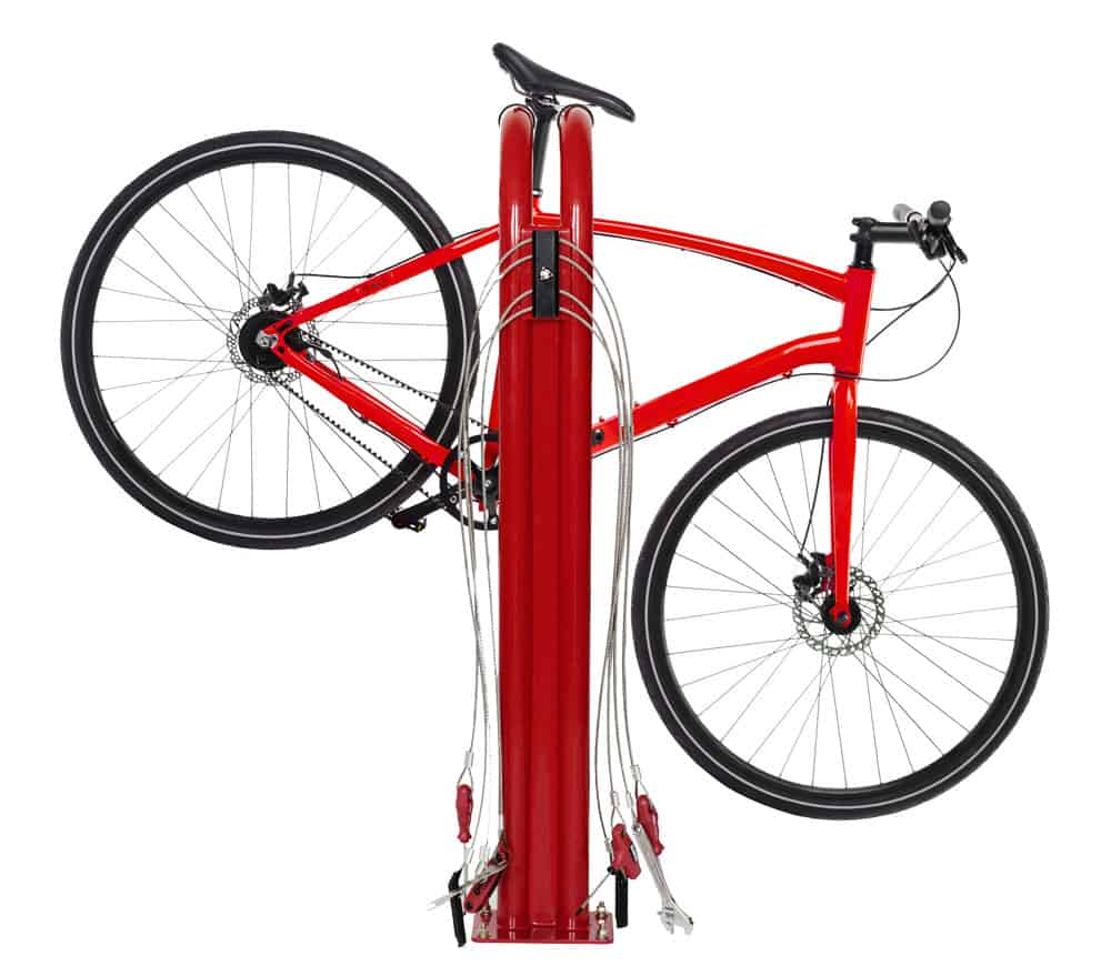 Apartments & houses for rent & investment with bike repair station