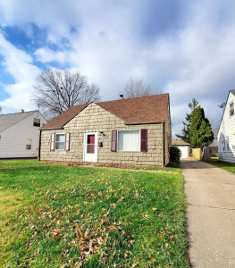 4 Bed – 1 Bath Cape Cod for Rent in Euclid | Jaw-Dropping!