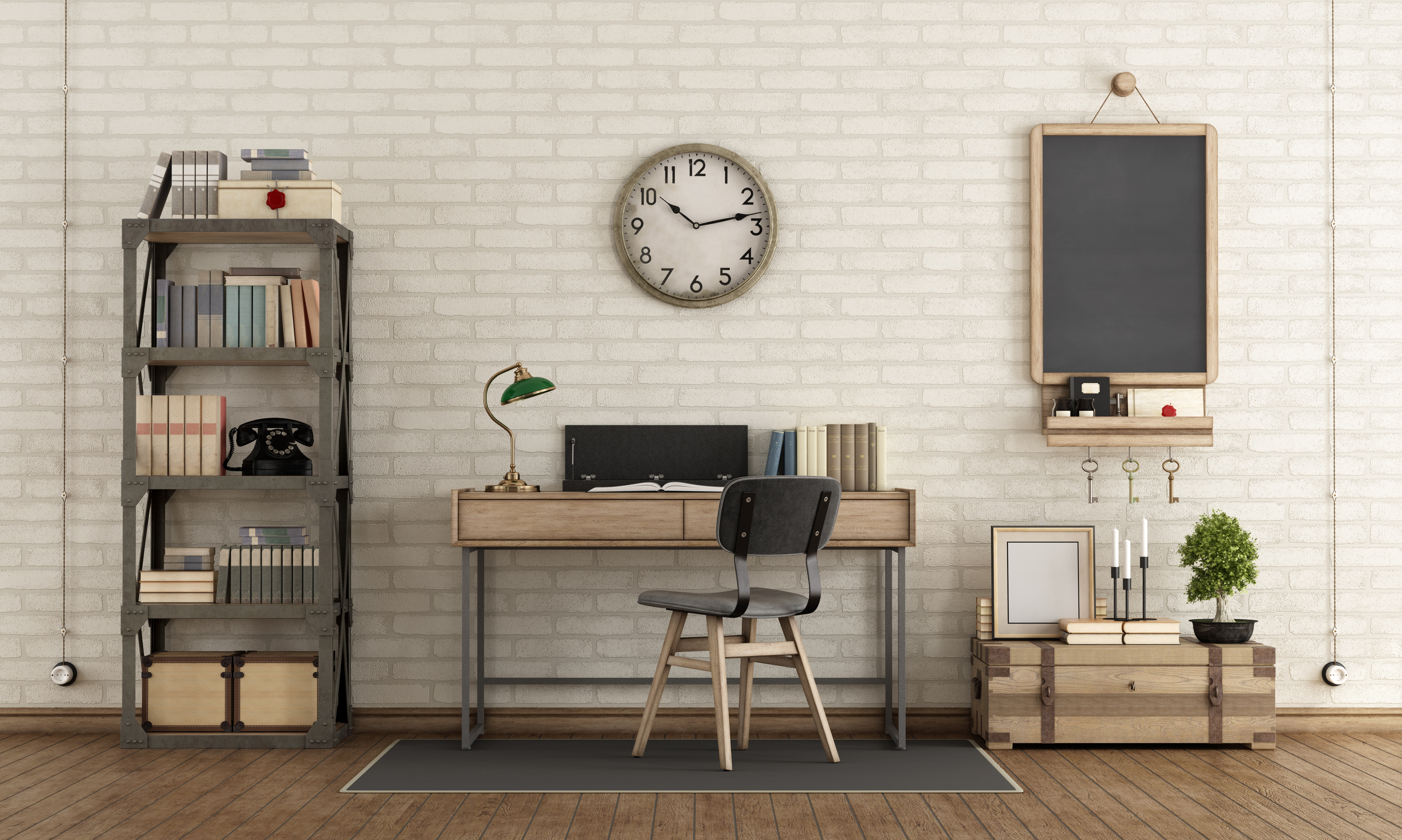 , Work From Home Like Never Before With These Basement Home Office Tips