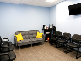updated waiting room