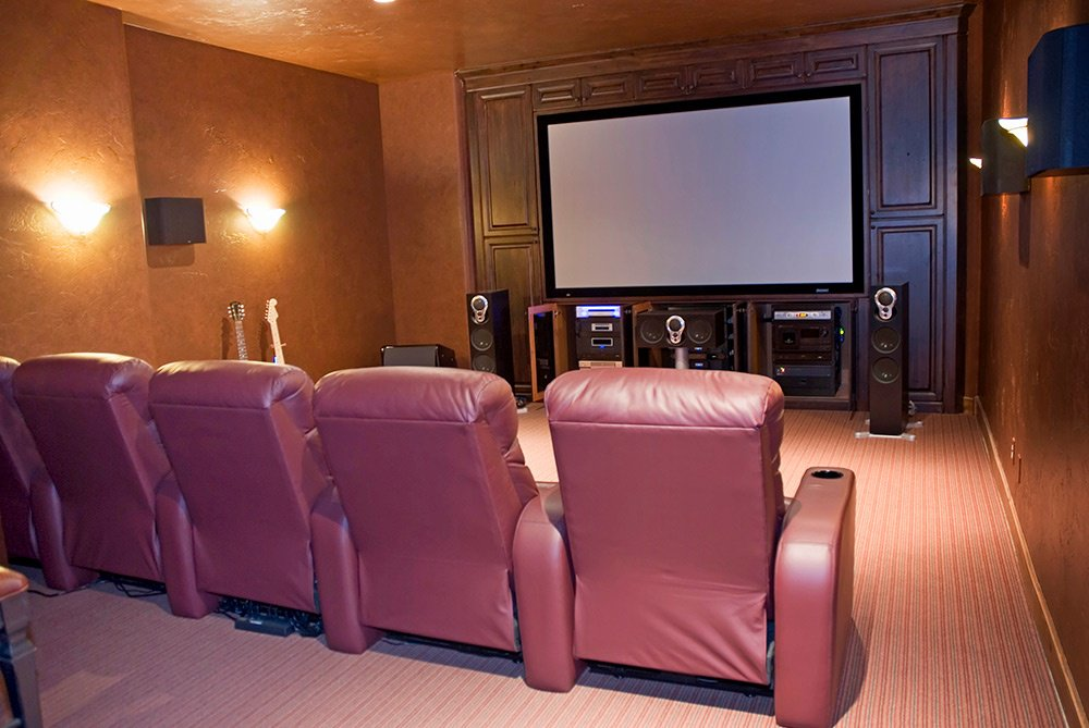 Man Cave Home Theater