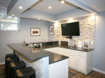 Custom Design-Build Finished Basement – Highland Heights, Ohio