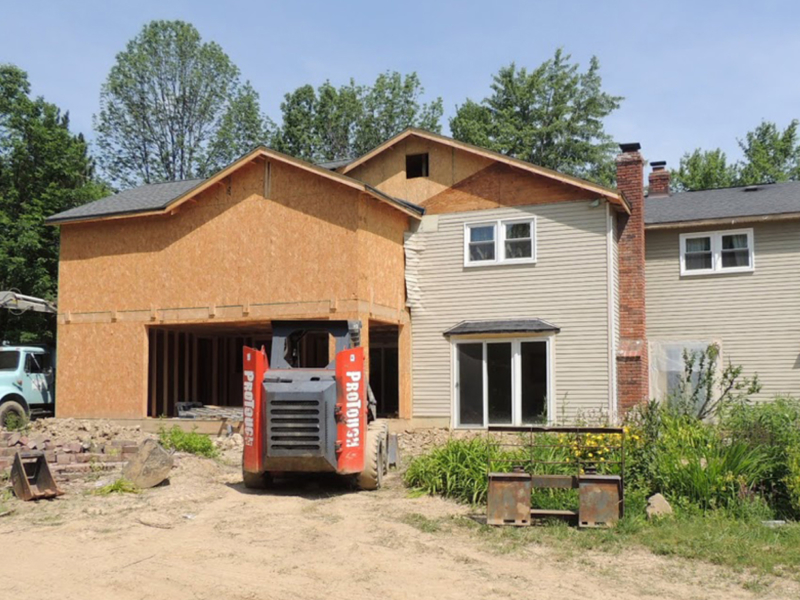 Custom Two Story Design Build Home Addition